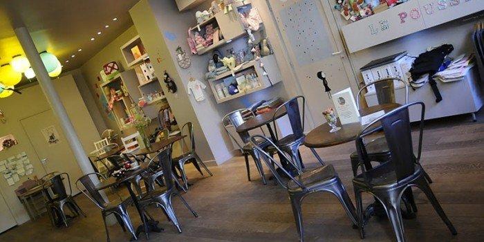 pushchair cafe