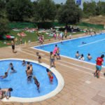 Summer Swimming at Parc Central