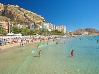 El Postiguet Beach, Alicante