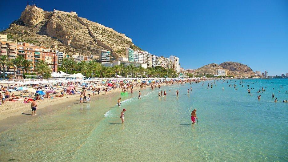 El Postiguet Beach Alicante