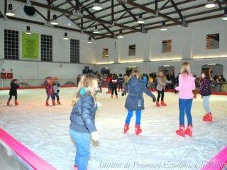 Ice skating, Girona and Palafrugell