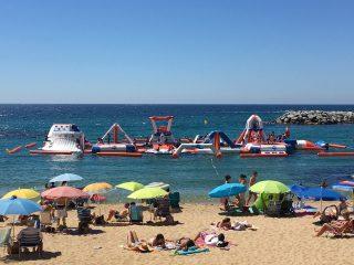 Sea inflatables, Pálamos & Estartit