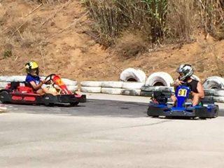Karting, Pálamos