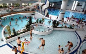 Perfect Public Swimming Pool In Neuilly Sur Seine Just Outside Of Paris. More Than  Just A Pool, This Is A Full Aquatic Center With A Huge Indoor Pool With  Slides.