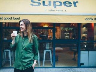 Christiane Collinge – Super Coffee & Food Store