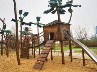 Grasbrookpark & Playground, Hamburg