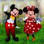 Les Mascottes de Mickey Chez Vous