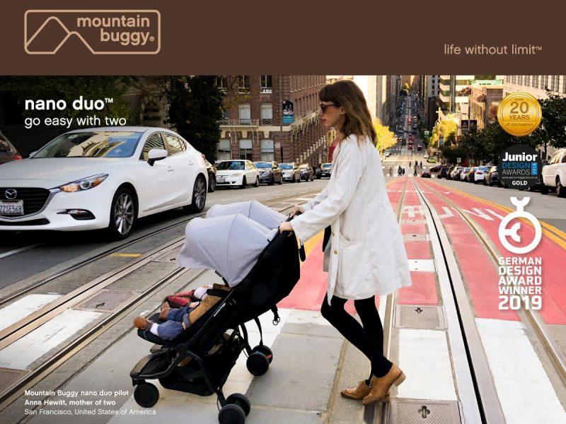 Mountain Buggy wins German Design Award