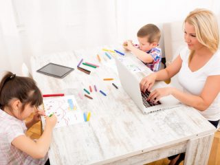 How To Work From Home When You've Got Kids