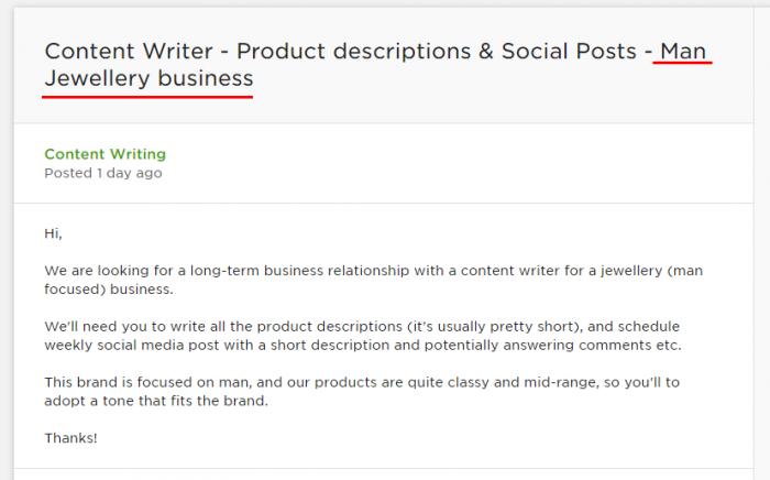 A CV for a freelance career