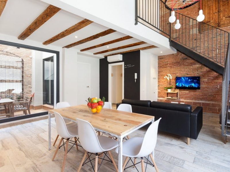Home exchange in Barcelona